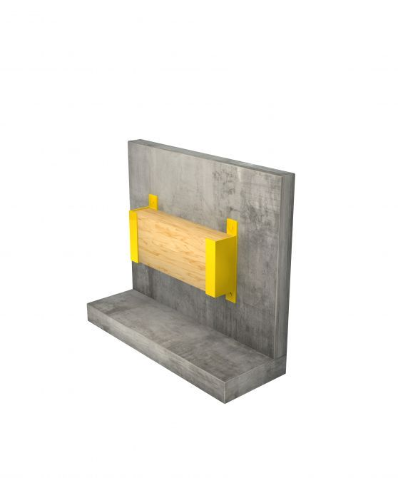 Uchwyt poziomy na ścianę